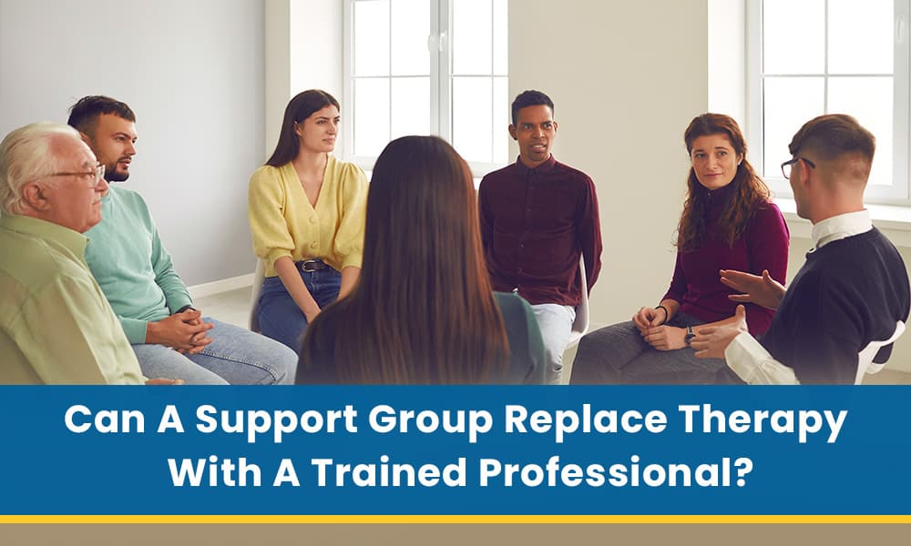 Can A Support Group Replace Therapy with A Trained Professional